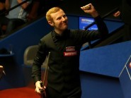 Anthony McGill, pictured, knocked defending champion Mark Selby out of the World Championship on Friday night