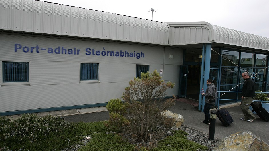 A full emergency was declared at Stornoway Airport