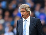Manchester City boss Manuel Pellegrini saw his side go into second place following the win over Aston Villa