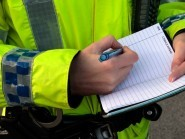 A man has died in a road crash involving a van in the Scottish Borders, police said