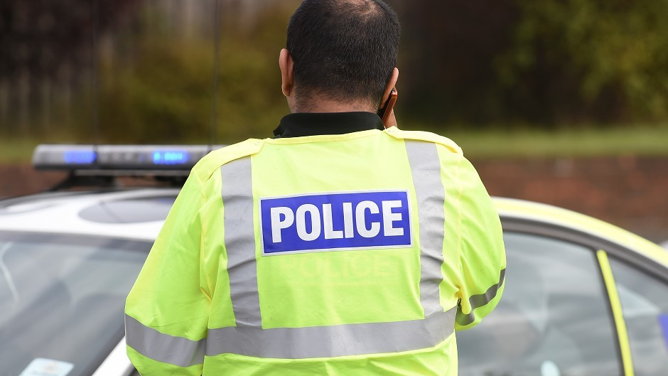 Two men were injured after an accident near Nigg