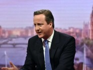 Prime Minister David Cameron appears on the BBC1 current affairs programme The Andrew Marr Show (BBC/PA)
