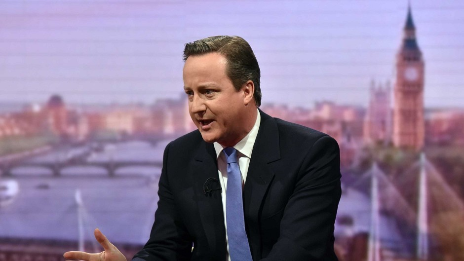 Prime Minister David Cameron has hit out at Alex Salmond's joke he'll write Labour's budget.