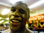 Floyd Mayweather Jnr, pictured, faces Manny Pacquiao on May 2