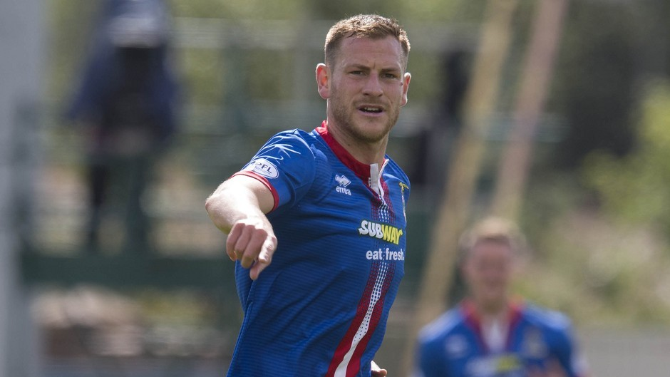 Inverness defender Gary Warren is set for his Europa League debut against FC Astra tonight.