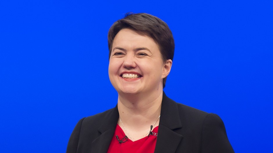 Scottish Tory leader Ruth Davidson said she believes the north-east will help her party into power in the upcoming Holyrood election