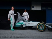 Nico Rosberg, left, and Lewis Hamilton, right, are again at odds in the wake of the former's comments in China