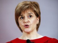 SNP party leader Nicola Sturgeon has attacked the Westminster parties