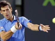 Defending champion Novak Djokovic, pictured, beat John Isner to reach the final in Miami (AP)