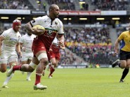Samu Manoa scored a try in Northampton's 25-20 win over Saracens