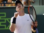 Andy Murray reached the quarter-finals in Miami (AP)