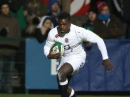 Christian Wade, pictured playing for England Saxons, scored a try for Wasps in their win over Exeter