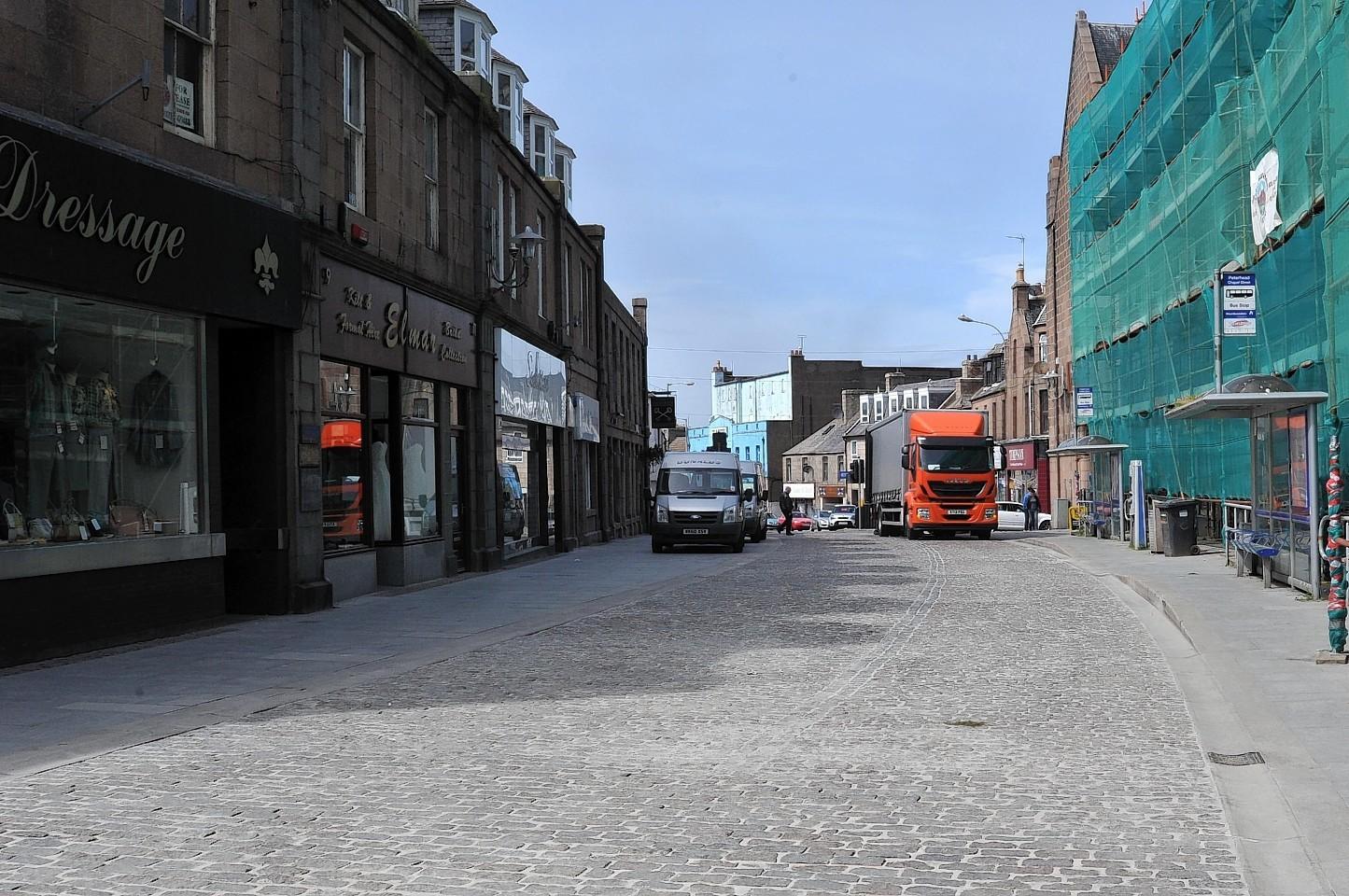 Peterhead town centre