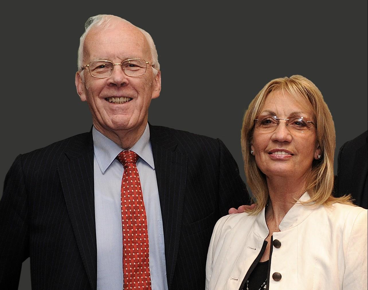 Sir Ian Wood And Lady Helen