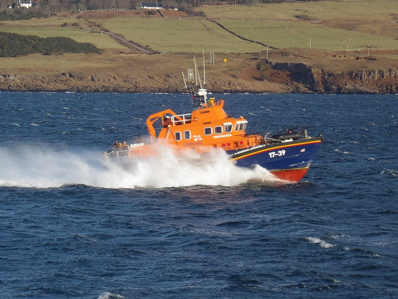 Macduff Lifeboat was called out last night