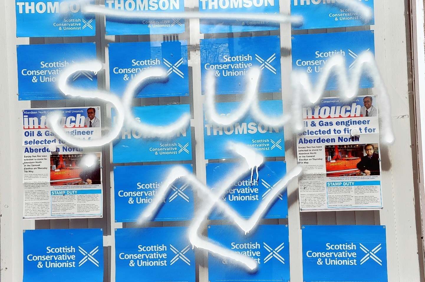 The Scottish Conservative office on West Mount Street