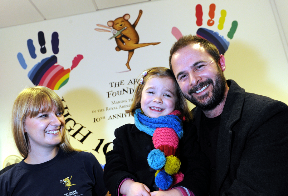 Iain Mearns helped to raise more than £7,000 for Archie