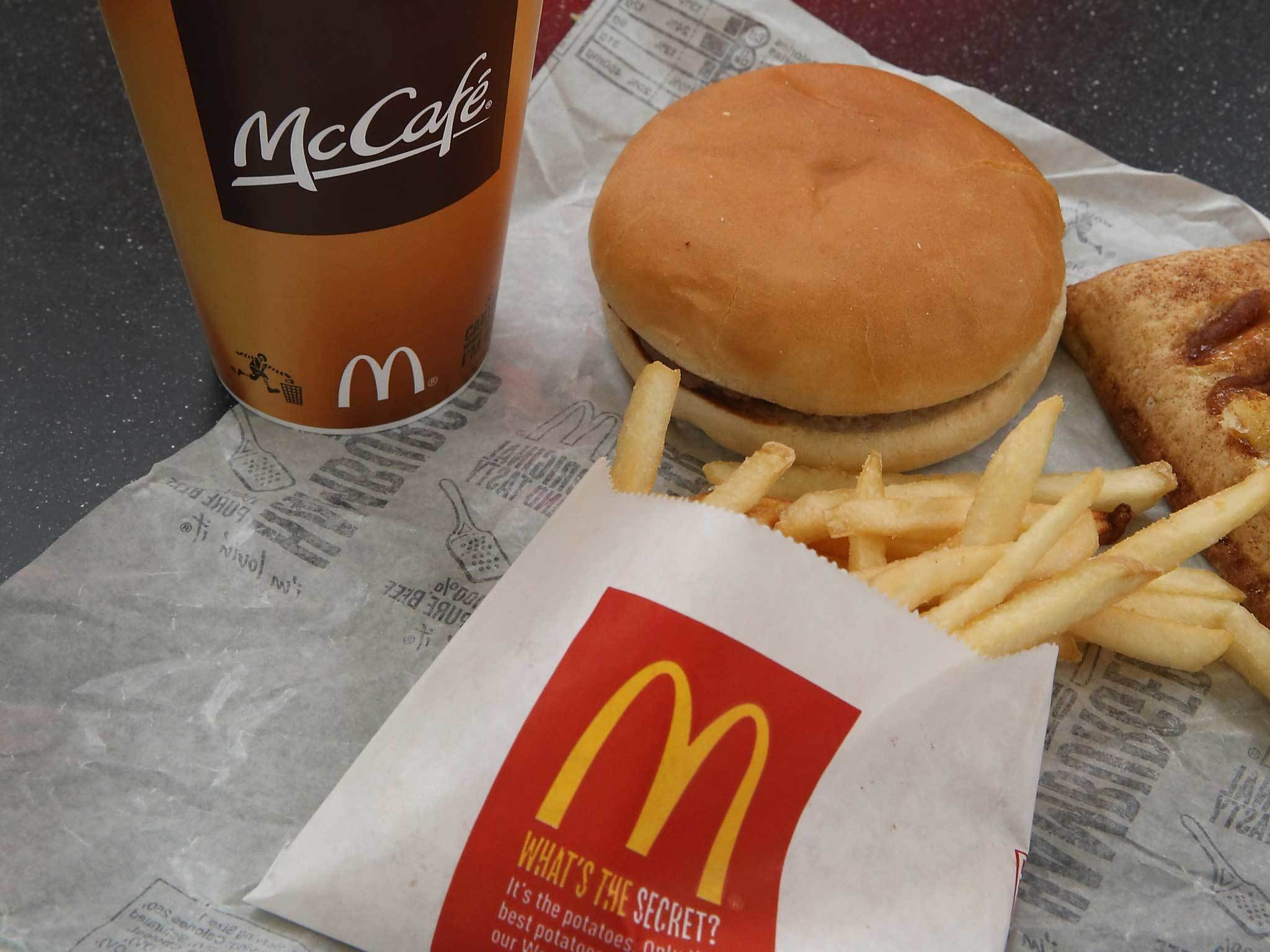 McDonald's hopes to open a new restaurant on the Arnhall Business Park.