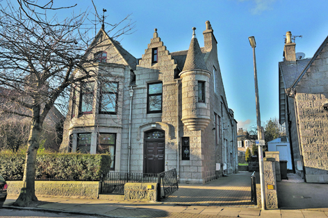 Number 14 Hamilton Place, Aberdeen, is a magnificent detached listed Victorian villa