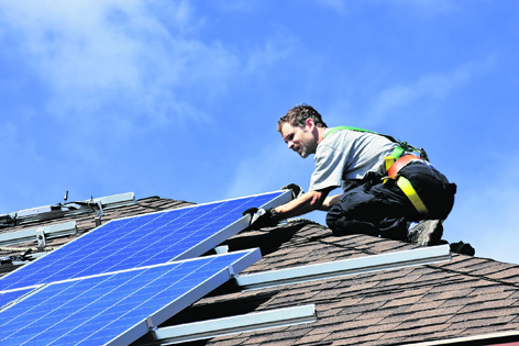 A Lewis charity hopes to slash its power bills after winning a grant for solar panels.