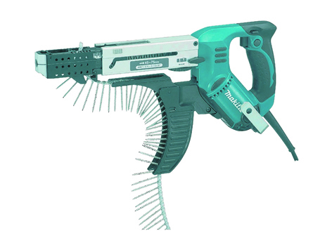 If you're planning on doing a job which requires a lot of screws, then check out the Makita Auto-Feed Screwdriver