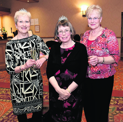 Gill Silver, Sheila Moir and Jen Brown