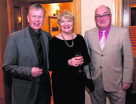 Iain and Sheena MacRae with Graham Spence
