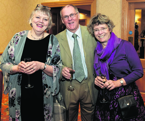 Anne and Don Shaw with Lucy Caird