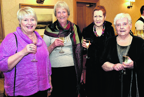Morag Forster, Angela MacPherson, Joy Ferguson and Margaret Smith