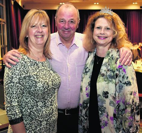 Alice and Bruce Gordon with Katie Gibb