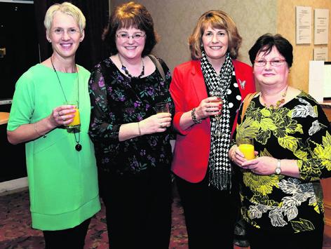 Iona Lee, Alison Watson, Jill Clunas and Linda Brown