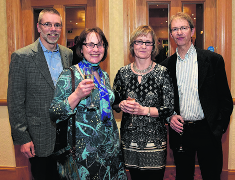 Jonathon and Susan Appleby with Susan and Charlie Anderson