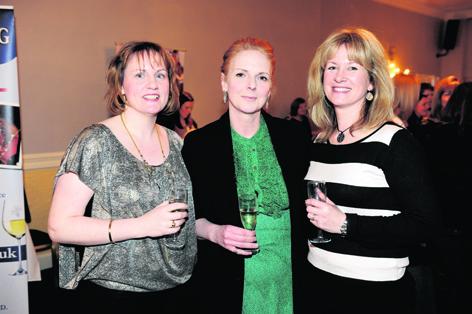 Moyra Stephen, Moira McGlashan and Wendy Rolfe