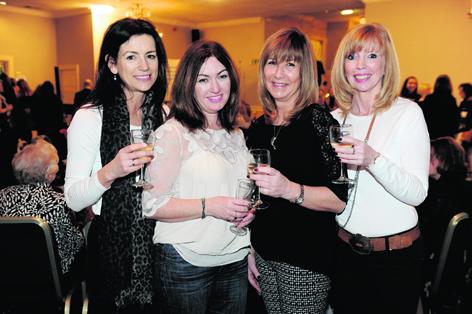 Nikki Bennet, Gillian Craig, Linda Simpson and Martine Wright
