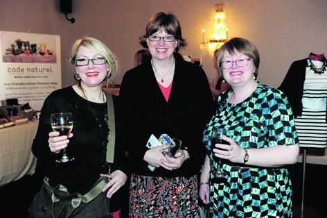 Liz Howarth, Jane Russell and Cate Garrow