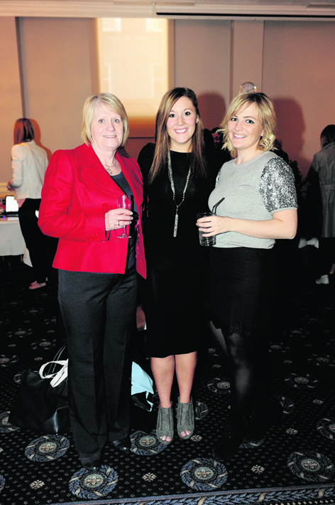 Astrid Roberts, Natalie Butler and Gillian Connal