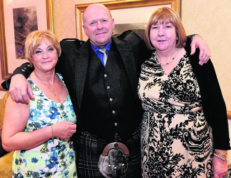 Heather Hood, Ian Hood and Kathie Stephen