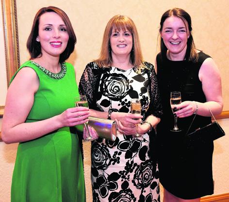 Helen Aird, Shona Fraser and Jackie Fraser