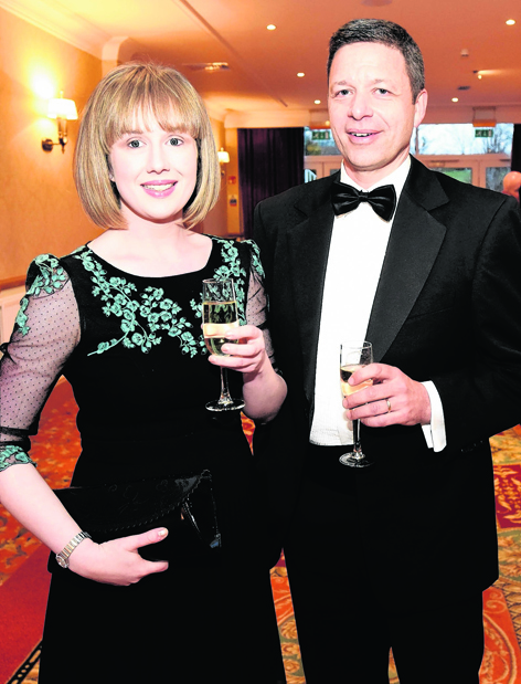 Vicki Fraser with Kevin Maley