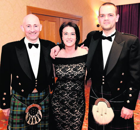 Iain MacLeod, Donna Wilson and Malcolm Robertson