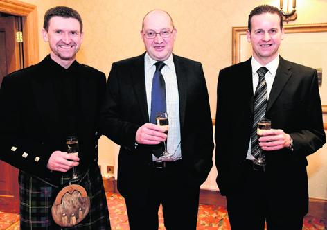Hamish Malcolm, Grant MacPherson and Philip Moir