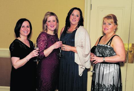 Tracy Baxter, Romana McGuire, Pauline McCann and Linda O'Hagan