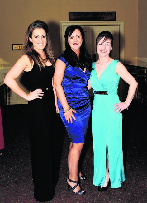 Sarah-Jane Hogg, Leanne Martin and Sine Macdonald
