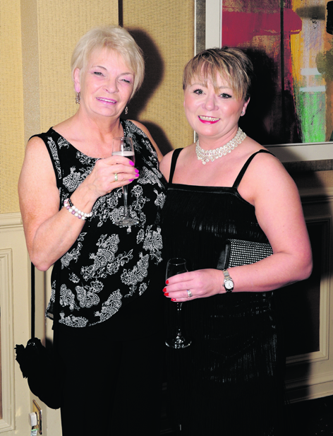 Annette Duncan and Naomi Stevenson