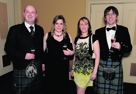 Derek Younie, Karen MacKay, Loraine Shellard and Andy Ferguson
