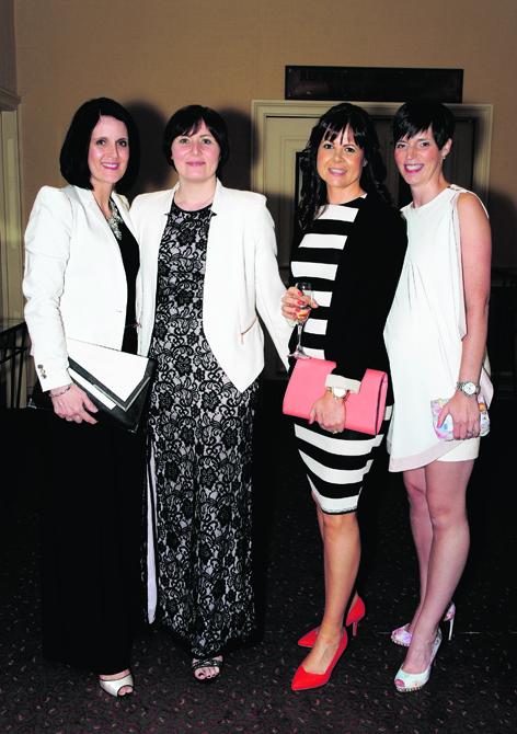 Helen Norrie, Debbie Wright, Laura Macdonald and Laura McConnachie