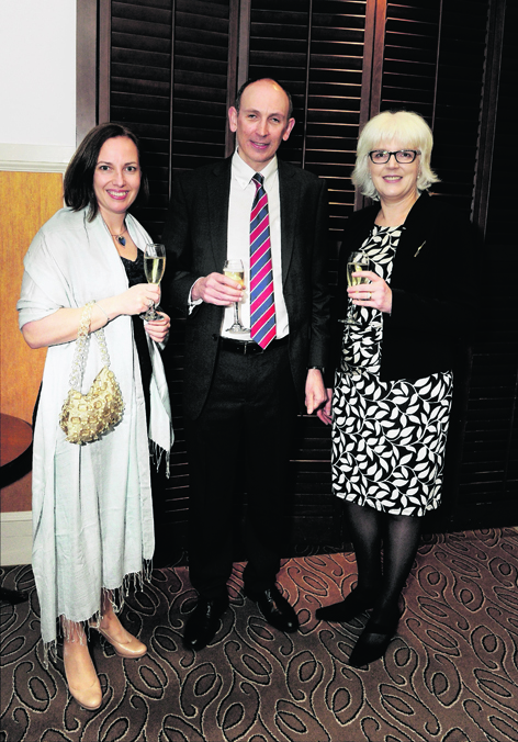 Karen Maclennan, Alastair Macdonald and Lynne Carstairs