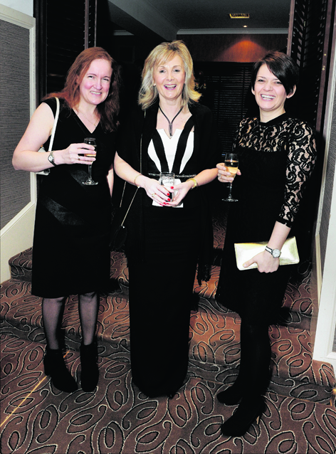 Sonja Cox, Janice Stirling and Ingrid Stewart