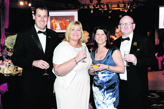 Alan Massie, Gail Gorman, Marie Boulton and Alan Donnelly