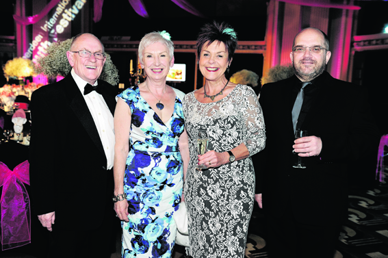 Tom Gibson, Louise Baxter, Paula Gibson and Alan Parker